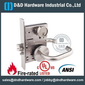 SSS304 American Standard Mortise Lock for Entry Door-DDAL04 F04